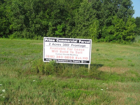 Commercial Leasing Site in Clifton Park, NY